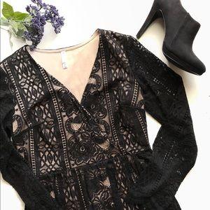 Xhileration Lace Women's Dress Sz M
